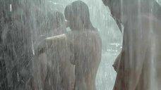 6. Асмус, Кузнецова, Лебедева, Малахова и Микульчина под водопадом – А зори здесь тихие... (Россия)