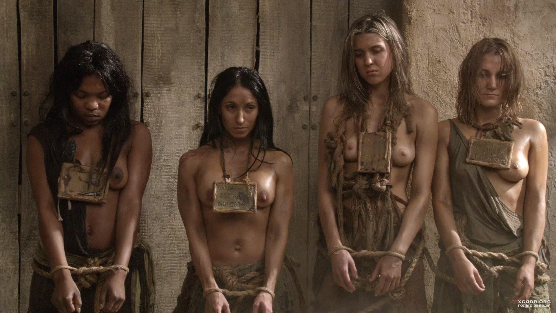 Girl nude in movie