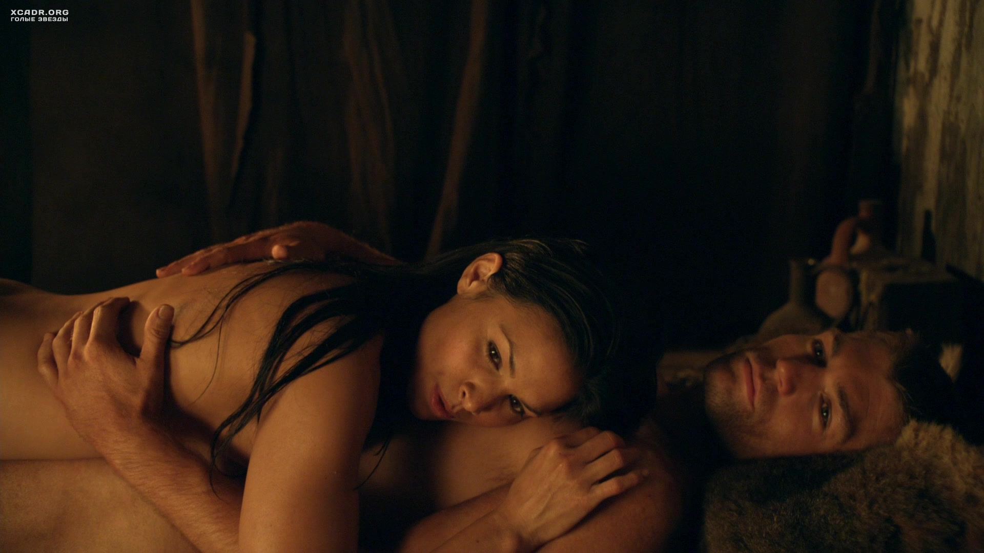 Sex scene from the film