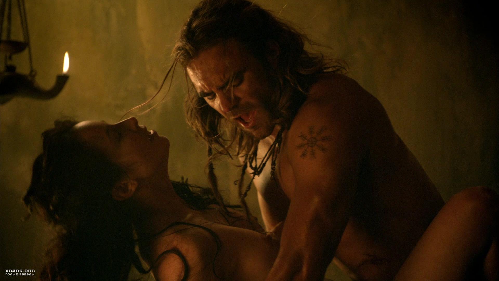 Порно видео из фильма спартак