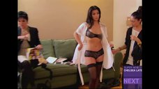 5. Ким Кардашьян в белье
