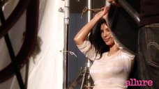 Сексуальная Ким Кардашьян для «Allure»