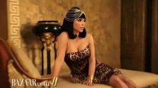 2. Ким Кардашьян в фотосессии для «Harper's Bazaar»