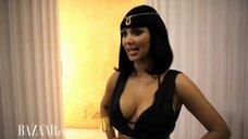 3. Ким Кардашьян в фотосессии для «Harper's Bazaar»