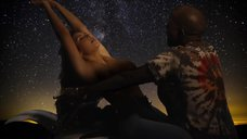 Соблазнительная Ким Кардашьян в клипе «Bound 2»