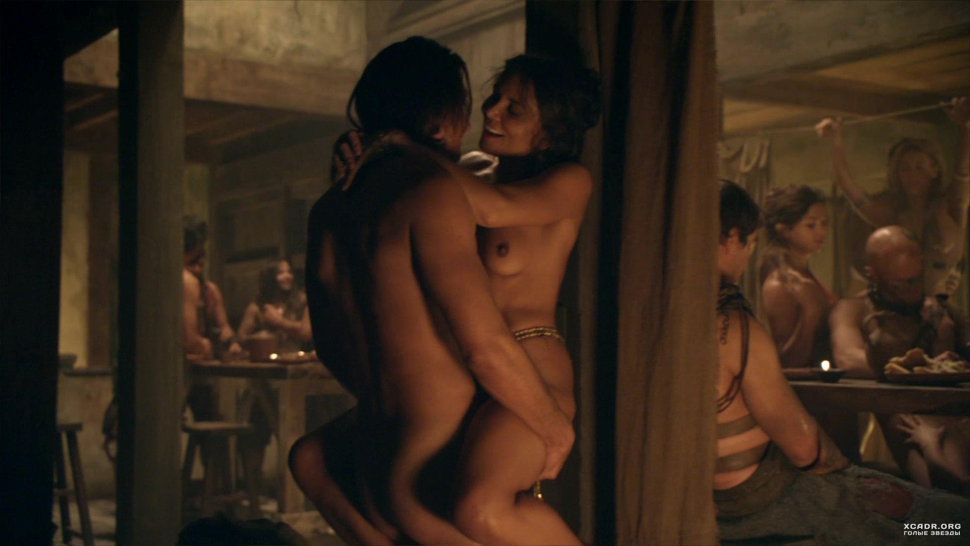 эротическое видео из сериала спартак