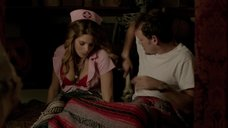3. Красотка Эшли Грин в костюме медсестры – Моя девушка – зомби