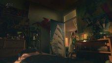 Ханна Мюррэй в прозрачной ночнушке