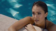 3. Джессика Альба плавает в бассейне – Как заниматься любовью по-английски