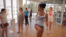 Яна Кошкина тренирует девушек