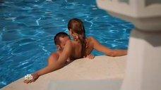 5. Интимная сцена с Еленой Олькиной в бассейне – Второй шанс