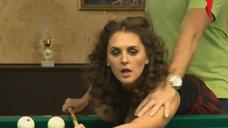 9. Возбуждающая игра Марии Шумаковой в бильярд – Счастливый конец