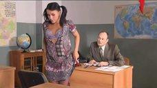 5. Екатерина Мадалинская раздевается на зачете – Счастливый конец
