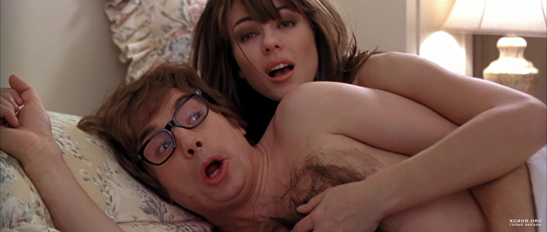 Austin powers elizabeth hurley nude