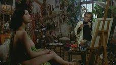 2. Пышногрудая женщина позирует перед художником – Паоло горячий