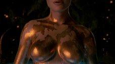 2. Изящное тело Анджелины Джоли – Беовульф (2007)