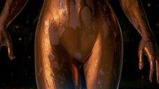 3. Изящное тело Анджелины Джоли – Беовульф (2007)