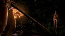 6. Изящное тело Анджелины Джоли – Беовульф (2007)