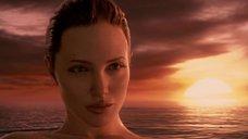 10. Красотка Анджелина Джоли – Беовульф (2007)