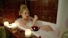 Валерия Федорович в пенной ванне