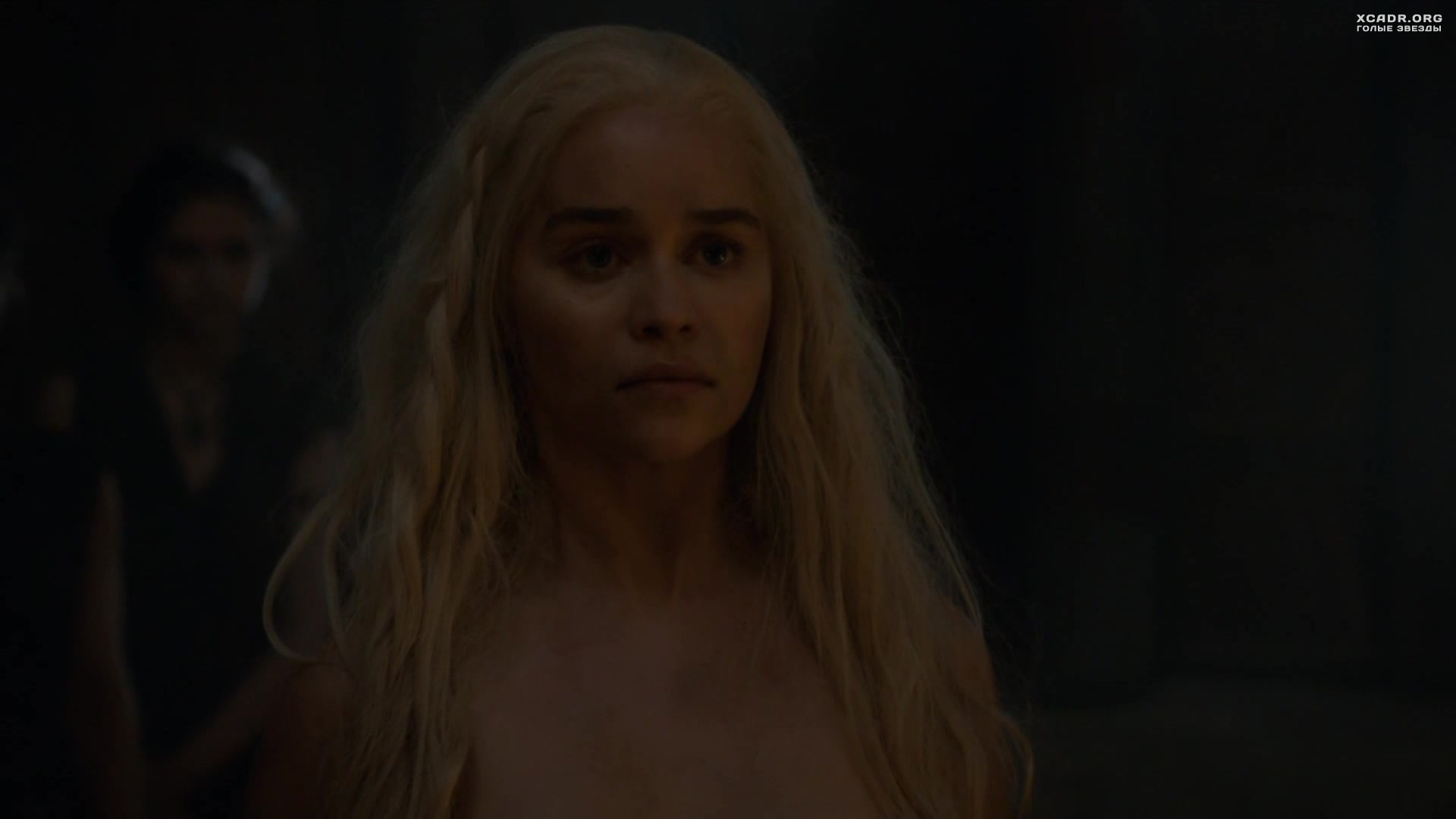голая Эмилия Кларк (Emilia Clarke) - Игры престолов (2010)
