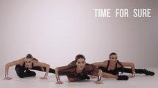 2. Голый сосок Инны в клипе «Good Time»