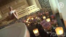 Анастасия Волочкова в бане