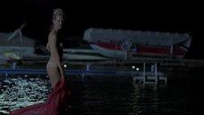 3. Сексапильная Энн Хеч купается в озере – Жеребец