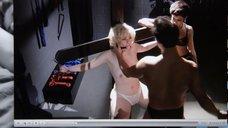 4. Прикованная голая Джена Айвори с кляпом во рту – Подчинение