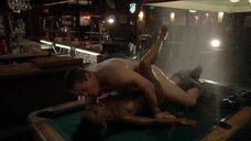Секс с Шанолой Хэмптон на бильярдном столе