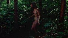 15. Полностью голая Камилль Китон после изнасилования в лесу – День женщины