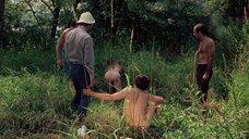 2. Полностью голая Камилль Китон после изнасилования в лесу – День женщины