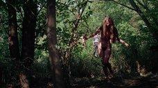8. Полностью голая Камилль Китон после изнасилования в лесу – День женщины