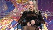 Ноги Ирины Салтыковой в колготках