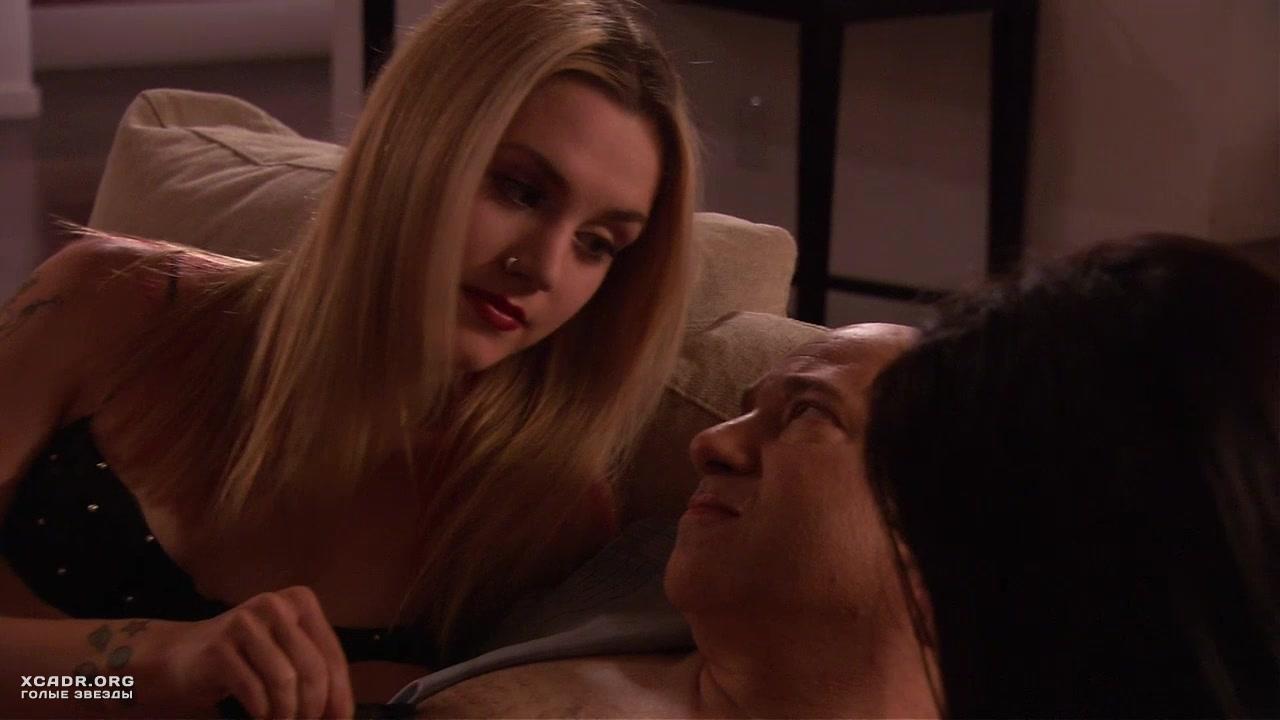 Соблазнительная Рэйчел Майнер Позирует В Черном Белье – Блудливая Калифорния (2007)